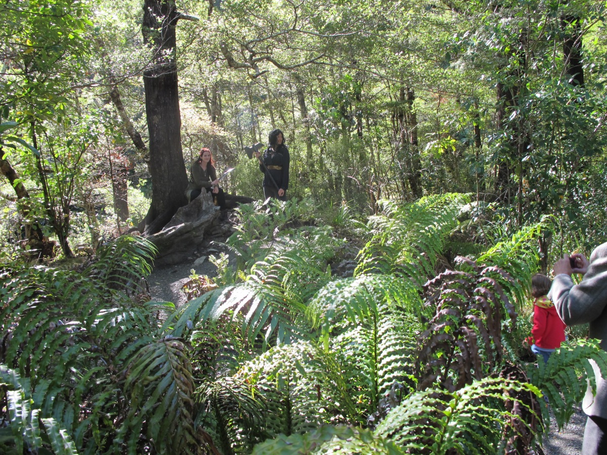 The ruins of Rivendell, Kaitoke National Park
