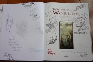 white worlds signing